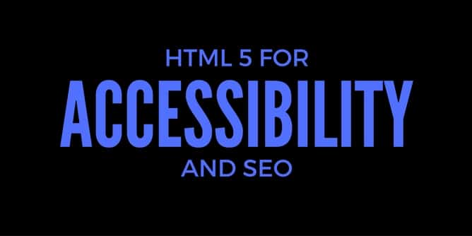 HTML5 is good for HTML5 and SEO