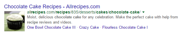 chocolate cake google search result