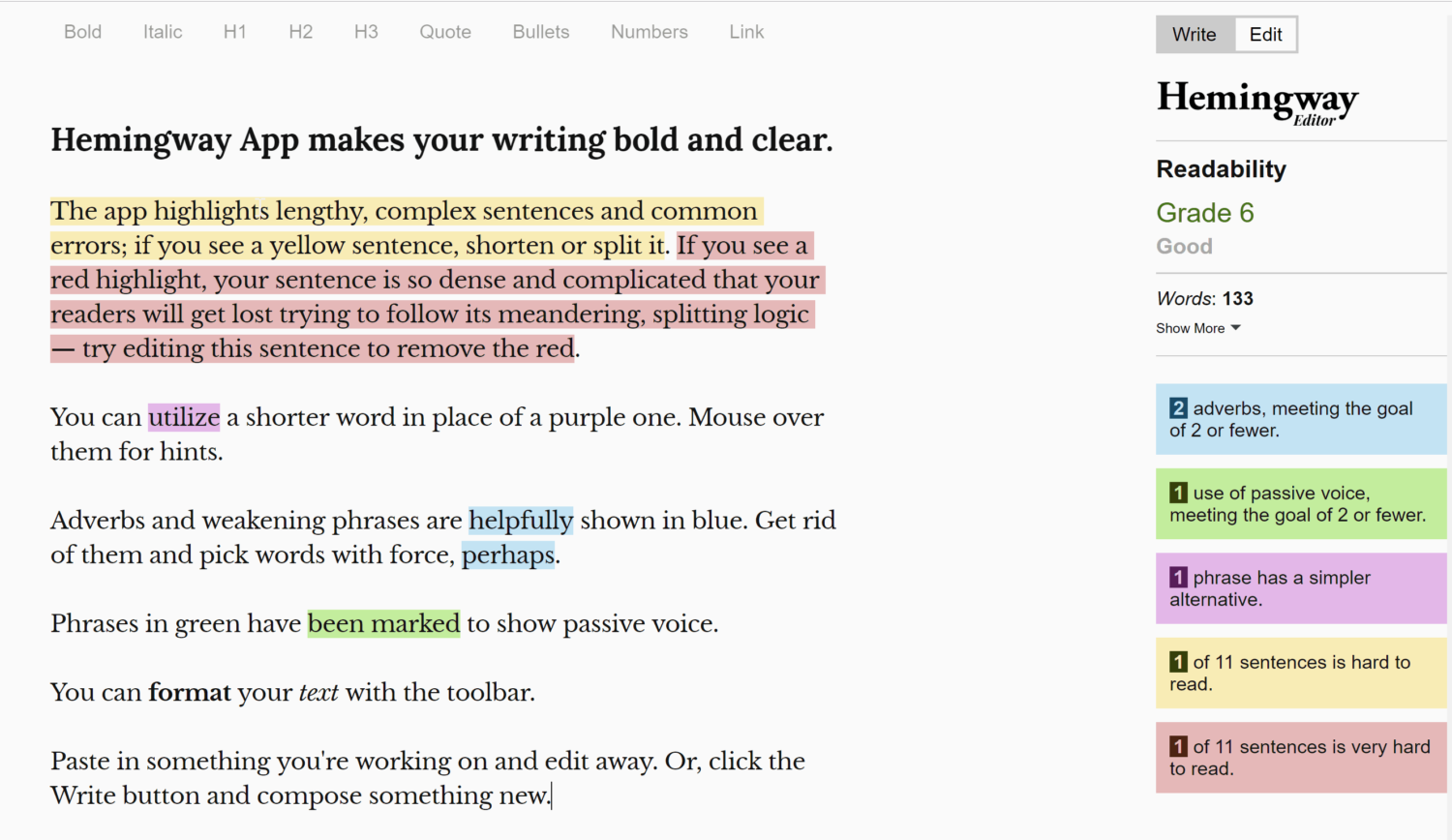 The Right Way to Write : Focus on Readability