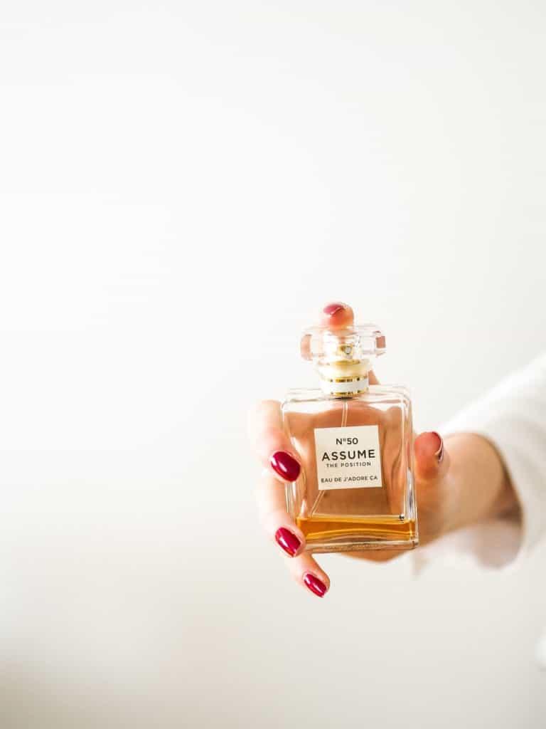 BDSM SPOOF perfume ad
